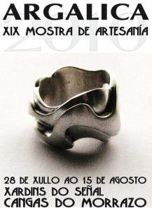 Cartel de la Feria de Cangas Argalica 2010