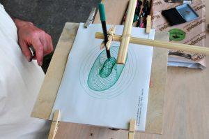 Curvas de Lissajous dibujadas por el Armonógrafo